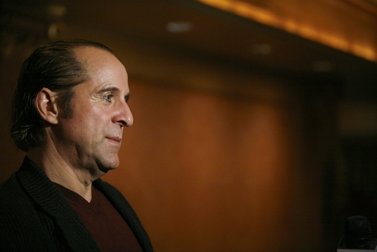 Peter Stormare at HEDDA GABLER Opening Night Party