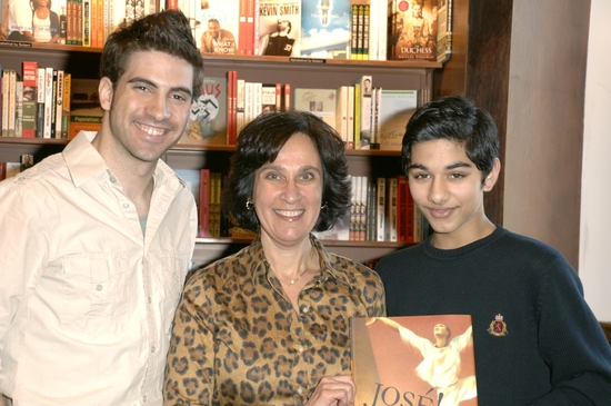 Diego Rodriguez, Suzanna Reich and Mark Indelicato
