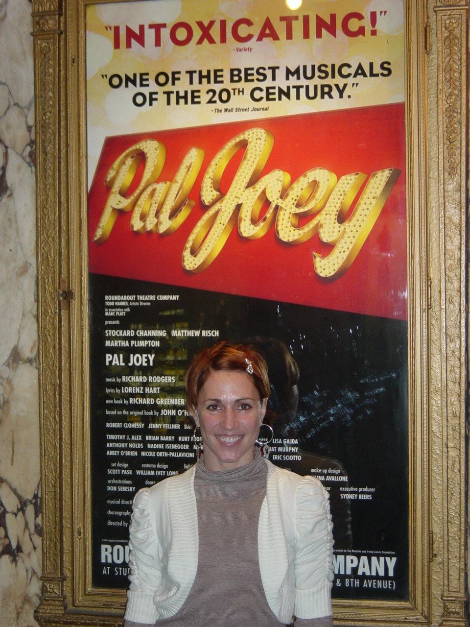GYPSY OF THE MONTH: Lisa Gajda of 'Pal Joey'