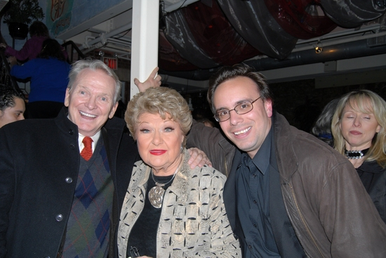 Bob Mackie, Marilyn Maye, Tedd Firth-tonights Musical Director at Nightlife Awards: Backstage and After Party