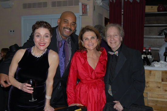Christine Andreas, Allan Harris, Tovah Feldshuh and Scott Siegel