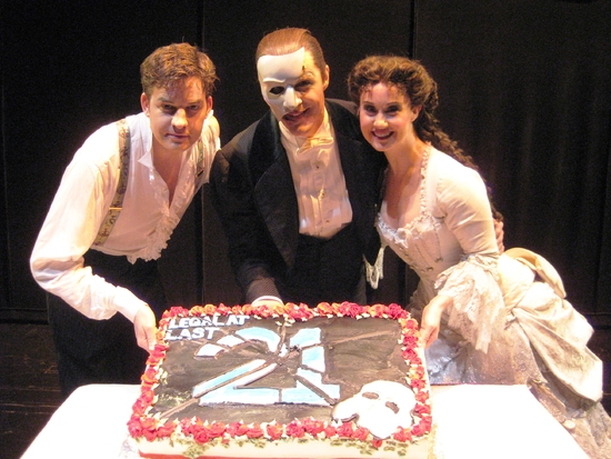 Photo Flash: 'Legal at Last' PHANTOM Turns 21 on Broadway!