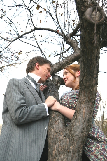 John Henry Roberts with Shannon Hoag