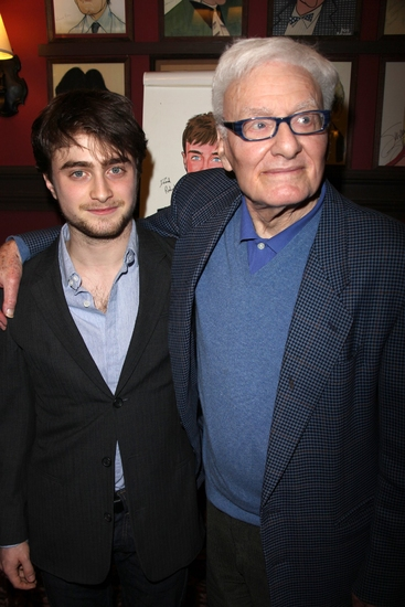 Photo Coverage: EQUUS Star Daniel Radcliffe's Caricature Unveiled at Sardi's