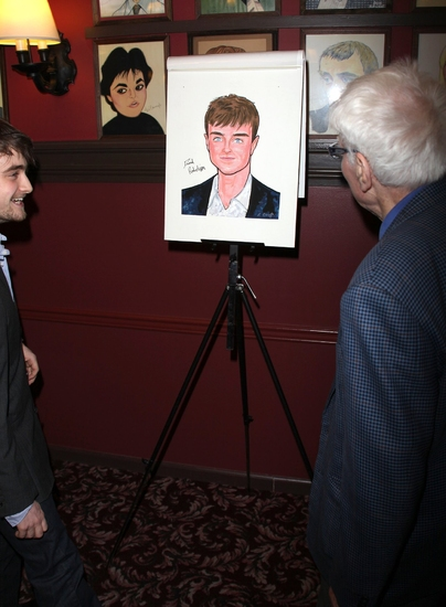 Daniel Radcliffe and Peter Shaffer