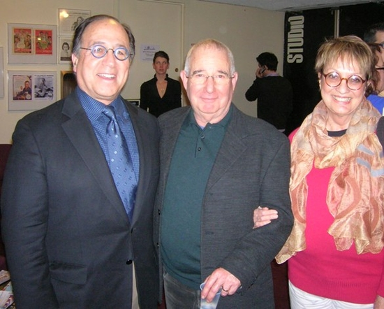 Leonard Majzlin, Michael Tucker and Carol Hall
