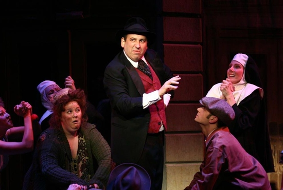 Michael Kostroff as Max Bialystock in 'King of Old Broadway' Photo