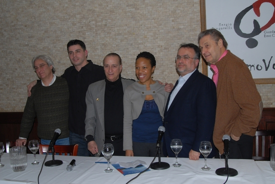 John Gould Rubin, Casimiro Torres, David Rothenberger, Nilaja Sun, Richard Frankel, Joseph Bologna at Drama Desk Panel Discussion