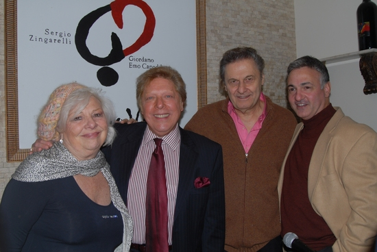 Renee Taylor, Robert R. Blume, Joseph Bologna, Joseph Callari (Assoc. Producer Drama Desk Awards, Producer Mind Games)
