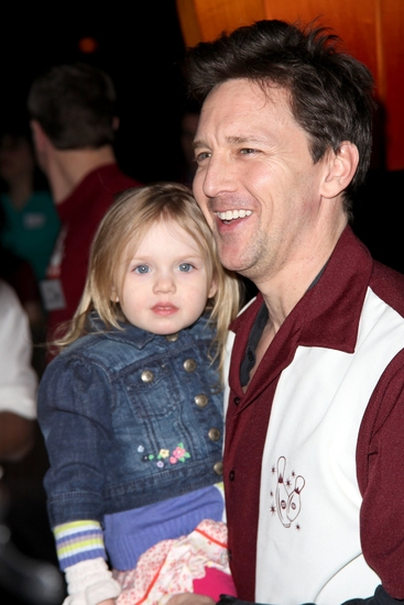 Andrew McCarthy with daughter