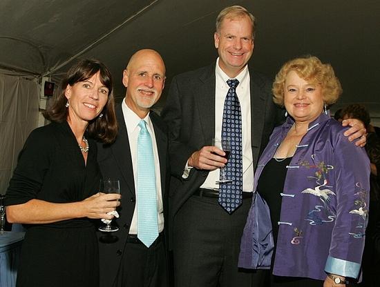 Lisa DeBruin, John Platt, Bob DeBruin and Sheila Platt