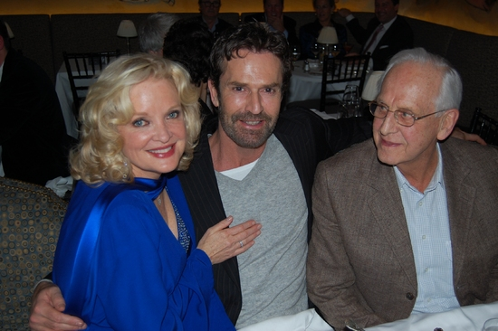 Christine Ebersole, Rupert Everett and Michael Blakemore at Photo Coverage Exclusive: Lane Celebrates His Birthday with Ebersole at the Carlyle