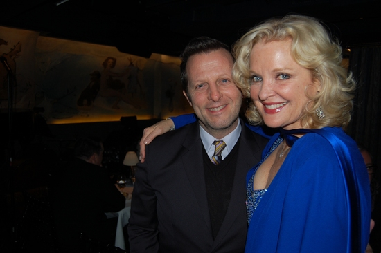 Photo Coverage Exclusive: Lane Celebrates His Birthday with Ebersole at the Carlyle