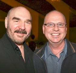 Former Producing Artistic Director Jon Kimbell with Jay Daly
