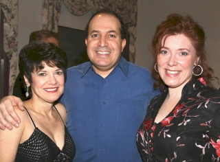 Kathy St. George, Robert Saoud and Leigh Barrett