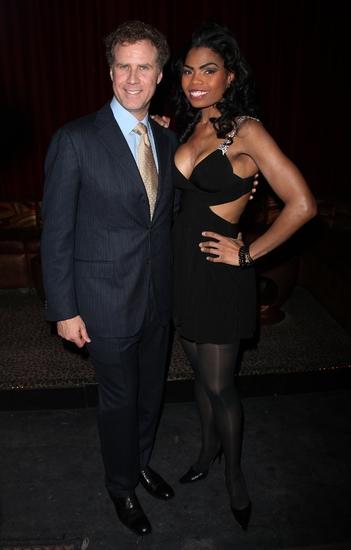 Will Ferrell and Pia Glenn