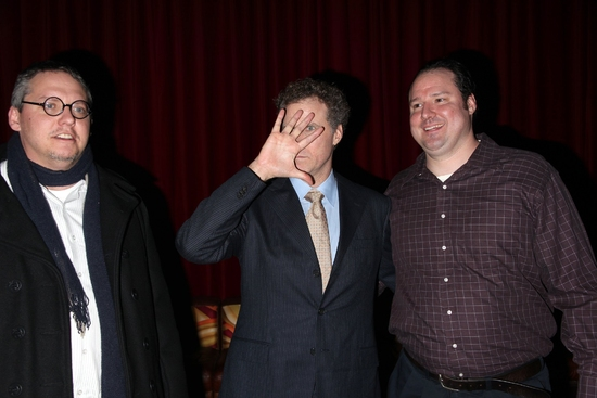 Adam McKay, Will Ferrell and Patrick Ferrell