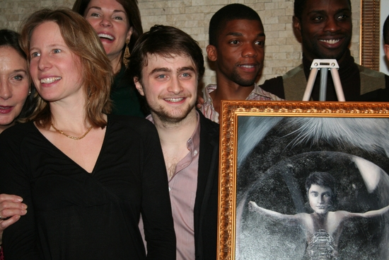 Thea Sharrock and Daniel Radcliffe