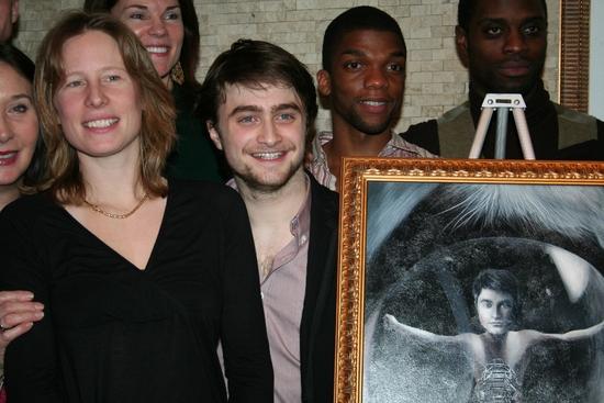 Photo Coverage: EQUUS Star Daniel Radcliffe's Portrait Unveiled at Tony's DiNapoli