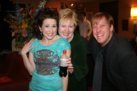 Kirsten Wyatt, Sally Mayes and Eric Gunhus