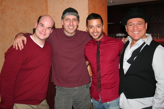 Aaron Kaburick, Richard Costa, Jai Rodriguez and Steve Weber