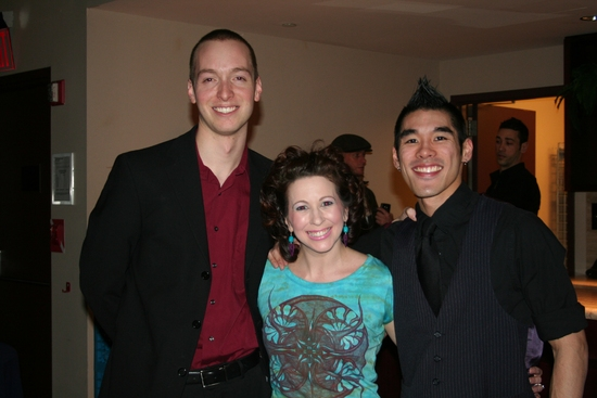 Paul Staroba, Kirsten Wyatt and Chris Kong
