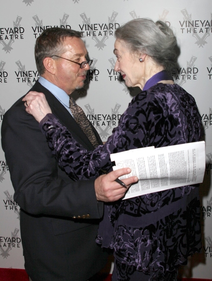 Sam Rudy and Marian Seldes