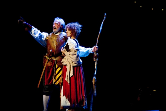 Brent Spiner and Julia Migenes at  Reprise Theatre Co. Presents MAN OF LA MANCHA
