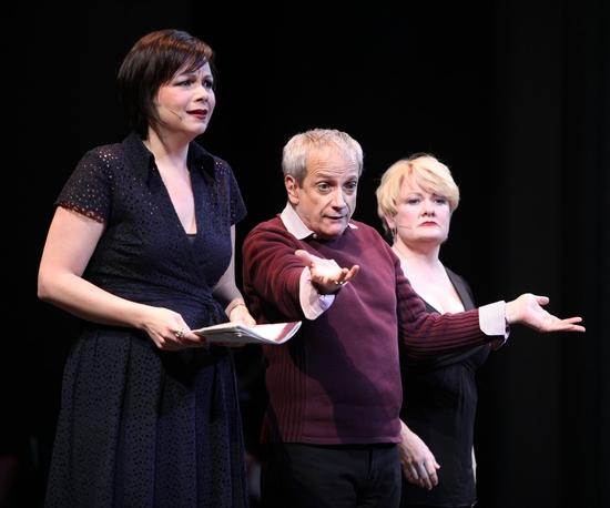 Charis Leos, Ron Palillo and Jessica Carter