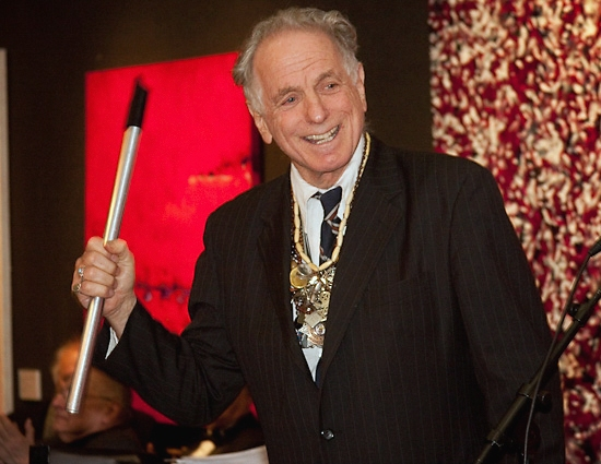 David Amram at LOVE 'N' COURAGE Benefit Honors Elaine Stritch