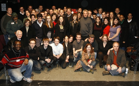 Photo Flash: OUR TOWN Meets the Press