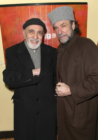 George Morfogen and F. Murray Abraham   Photo