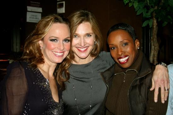 Melora Hardin, Brenda Strong and Brenda Braxton