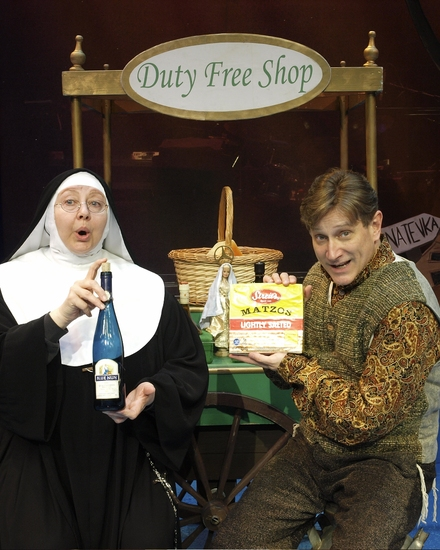 Bonnie Lee (As The Mother Superior) and David Edwards (as Howard) Photo