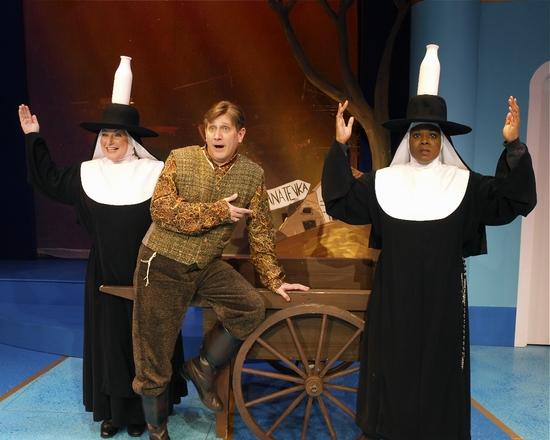 Deborah Del Mastro (Sister Robert Anne), David Edwards (as Howard) & Bambi Jones (Sis Photo