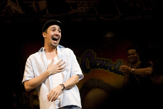 Photo Coverage: Lin-Manuel Miranda Bids Farewell to 'IN THE HEIGHTS' - His Last Curtain Call