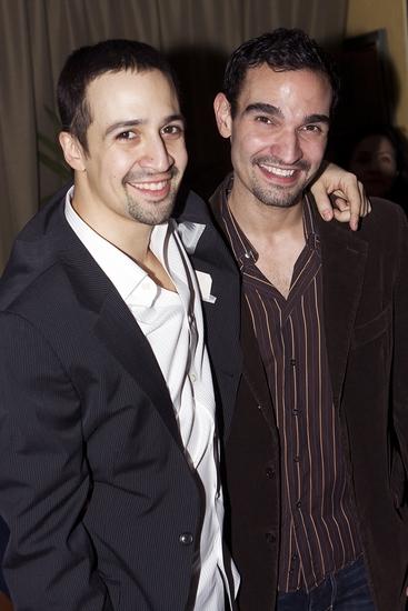 Lin-Manuel Miranda and Broadway's new 'Usnavi' Javier Munoz
