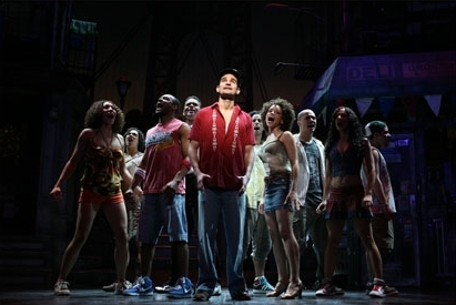 Javier Munoz and the cast