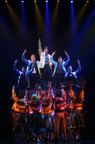 Photo Flash: The Cast of GREASE on Tour