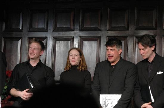 Teddy Eck, Veanne Cox, Bryan Batt, and Ezra Barnes
