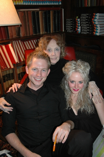 Teddy Eck, Charlotte moore and Emma Archid
