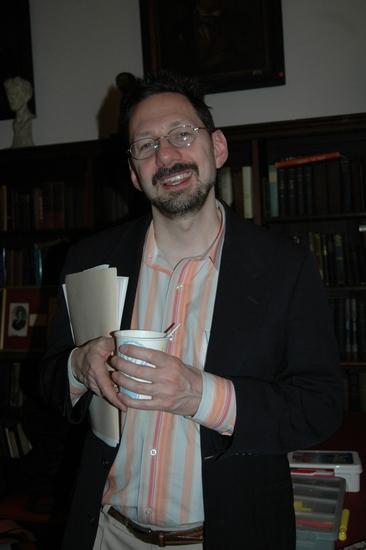 David Sheward-Host for tonights performance Photo