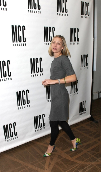Photo Coverage: MCC Theater's 'reasons to be pretty' Meets The Press