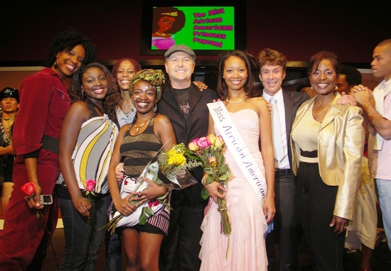 Donzaleigh Abernathy, Appears as Guest Judge in Afro American Mock-U-Pageant Variety Show at ACME Comedy Theatre
