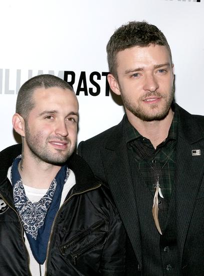 Trace Ayala and Justin Timberlake Photo