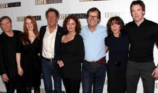 William Sadler, Lauren Ambrose, Geoffrey Rush, Susan Sarandon, Neil Armfield (director), Andrea Martin, and Brian Hutchinson