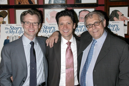 Neil Bartram, Brian Hill and Richard Maltby, Jr.   Photo