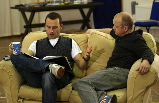 Andrew Lincoln and Toby Jones