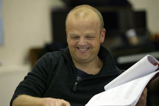 Toby Jones at PARLOUR SONG In Rehearsal At Almeida Theater