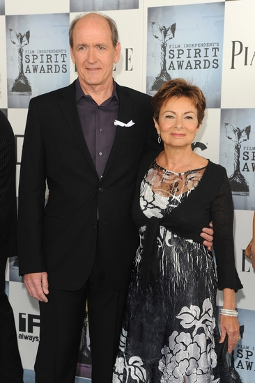 Richard Jenkins and wife Sharon R. Frederick  Photo